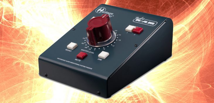 Heritage Audio Baby RAM, passiver Monitorcontroller test