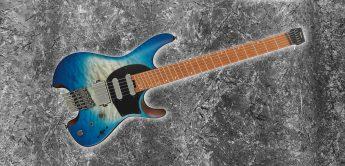 Test: Ibanez Q-Series – QX54QM Headless E-Gitarre