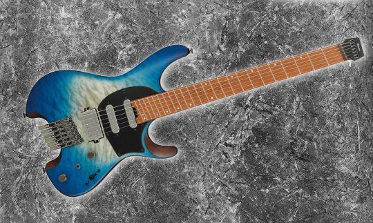 Test: Ibanez QX54QM Headless E-Gitarre