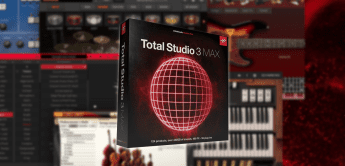 IK Multimedia Total Studio 3 MAX, Software-Instrumente und Effekt-Plugins