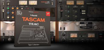 IK Multimedia T-RackS Tascam Tape Collection, Plug-in Bundle