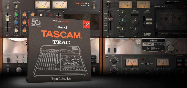 ik multimedia t-racks tascam tape collection 1