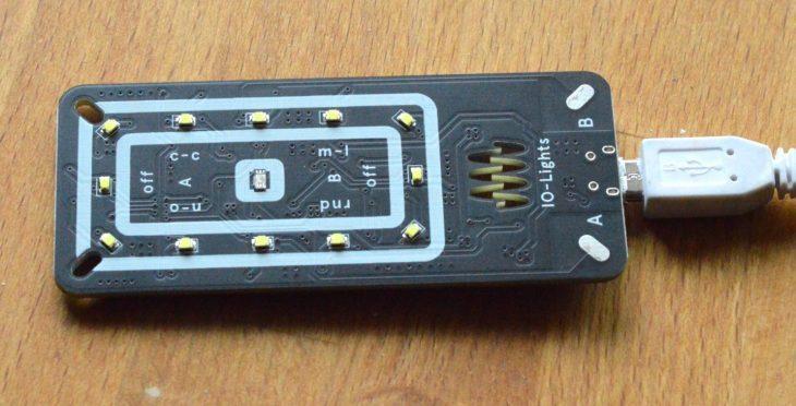 Instrument of Things IO-Lights - USB-Verbindung