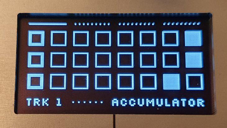 Intellijel Metropolix Displayansicht 1