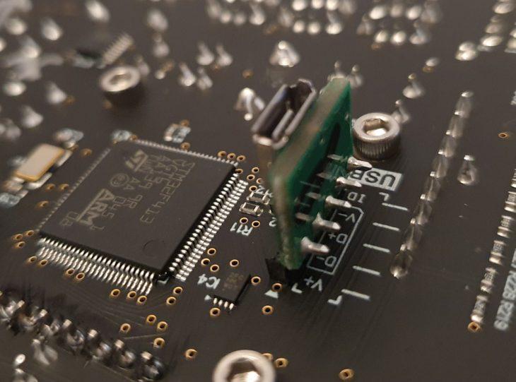 test Intellijel Metropolix USB Board