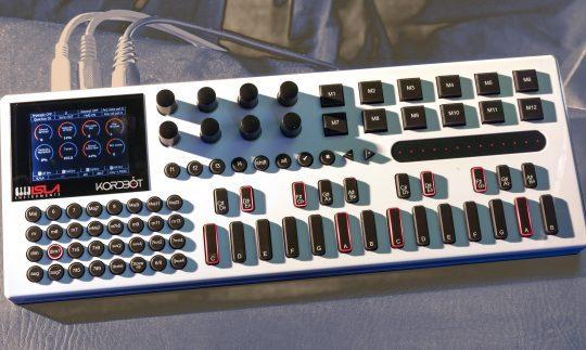 Test: Isla Instruments KordBot, Hardware Sequencer