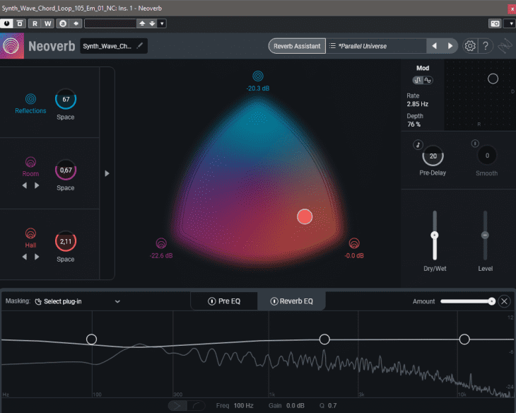iZotope Neoverb Unmask