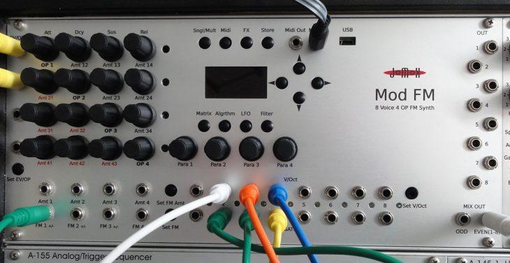 jomox mod fm synthesizer eurorack