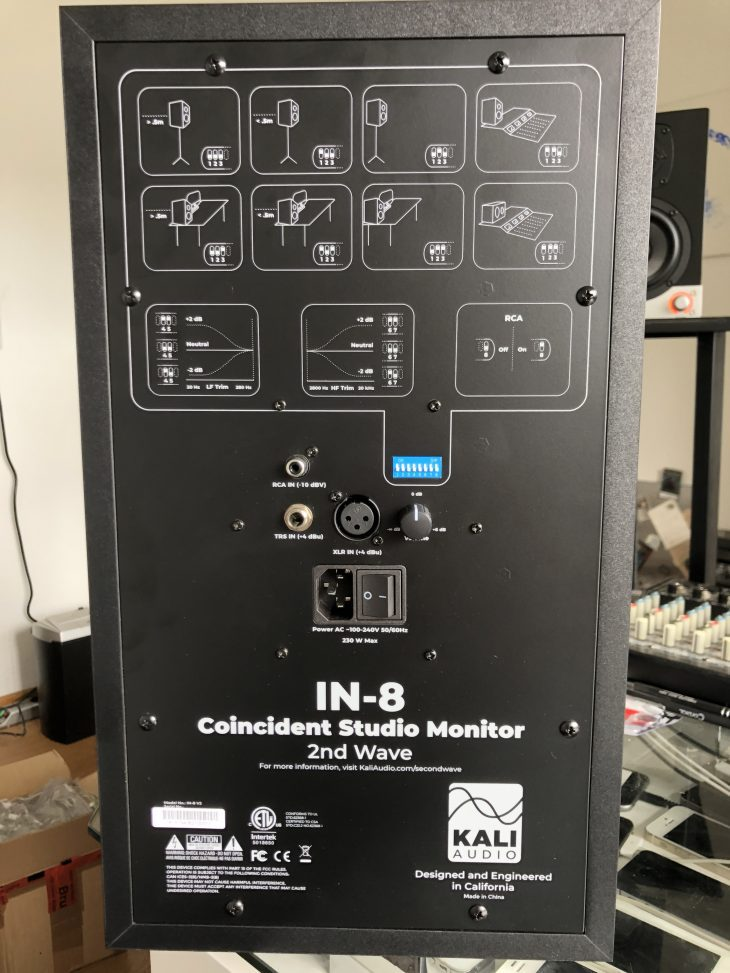 Kali Audio IN-8 2nd Wave Test