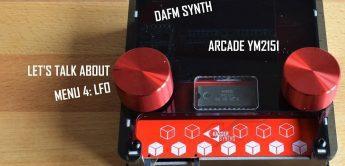 Kasser DAFM, FM-Synthesizer mit YM2151 & YM2612