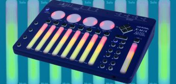 Keith McMillen K-Mix Blue Edition, neue Version des Digital-Mixers / USB-Interfaces