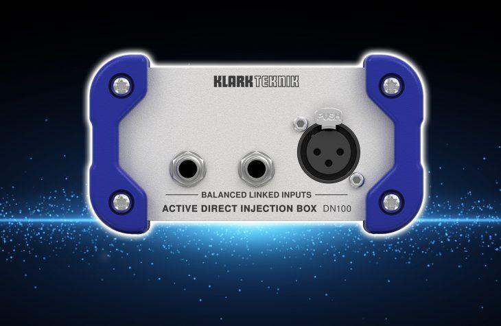 Klark Teknik stellt DN100 DI Box vor