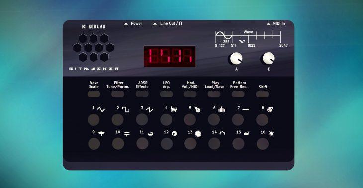 kodamo bitmasker synthesizer