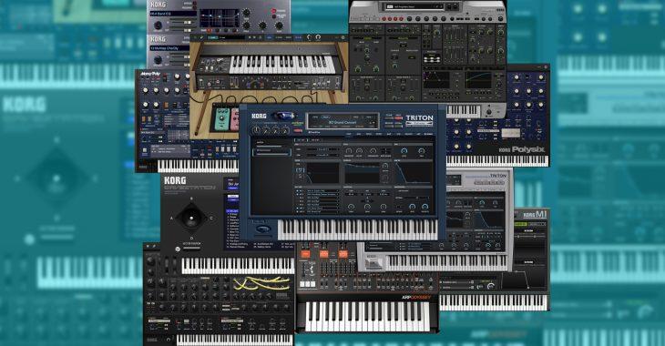 korg collection 3 synthesizer plugin bundle