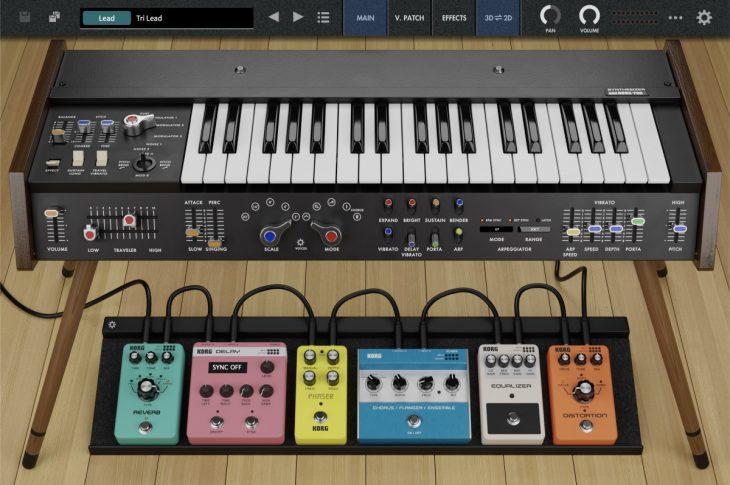 korg collection 3 minikorg 700s synthesizer plugin
