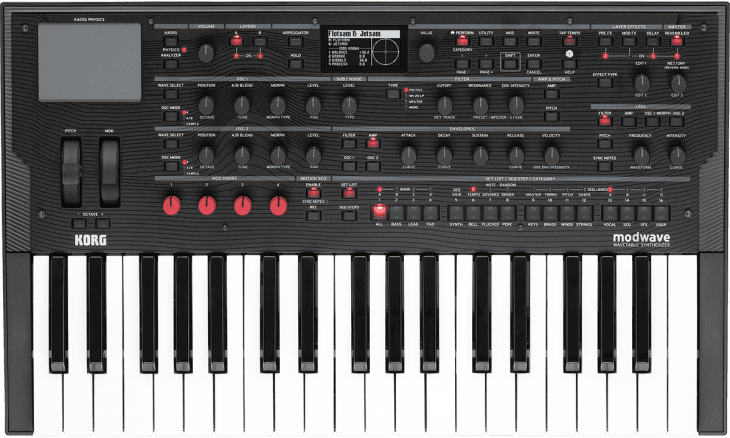 korg modwave synthesizer 1