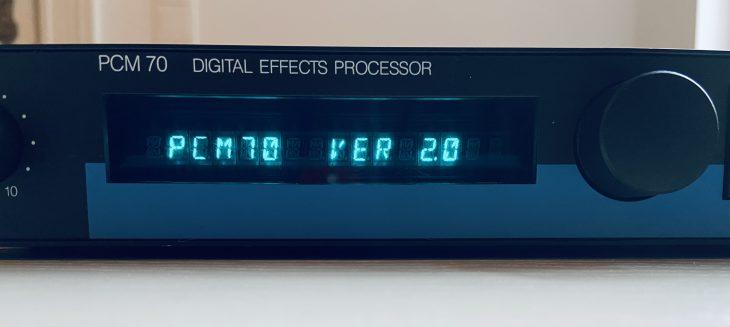 Report Lexicon PCM 70 Multieffektgerät
