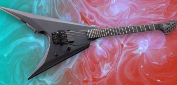 Test: LTD Arrow Black Metal, E-Gitarre