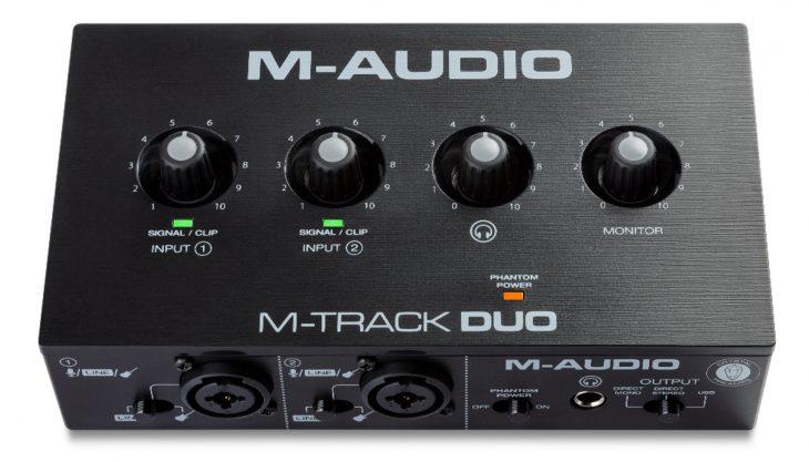 M-Track Duo m-audio test
