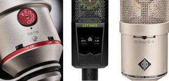 Workshop: Schalter an Mikrofonen, Mikrofoneinstellungen richtig verwenden