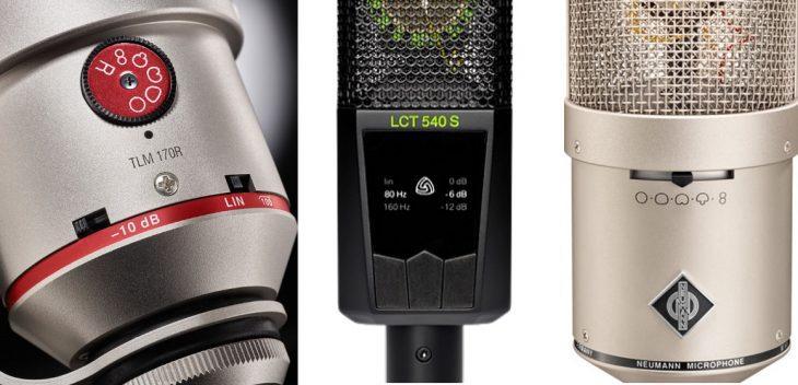 Workshop: Schalter an Mikrofonen - Mikrofoneinstellungen richtig verwenden