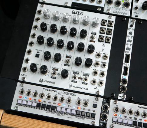 tubbutec 6m0d6 drum modul 6equencer eurorack