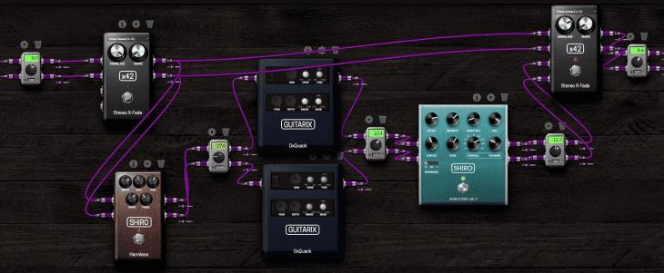 MOD Devices MOD DUO X - Piano - Tram + Quack + Shiroverb Mk2 - Dark, Gain Staging
