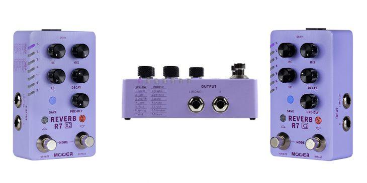 Mooer X2 Series Stereo R7 Reverb
