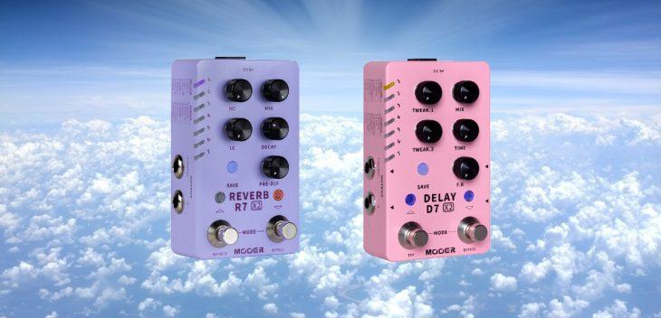 Mooer X2 Series Stereo Delay & Reverb