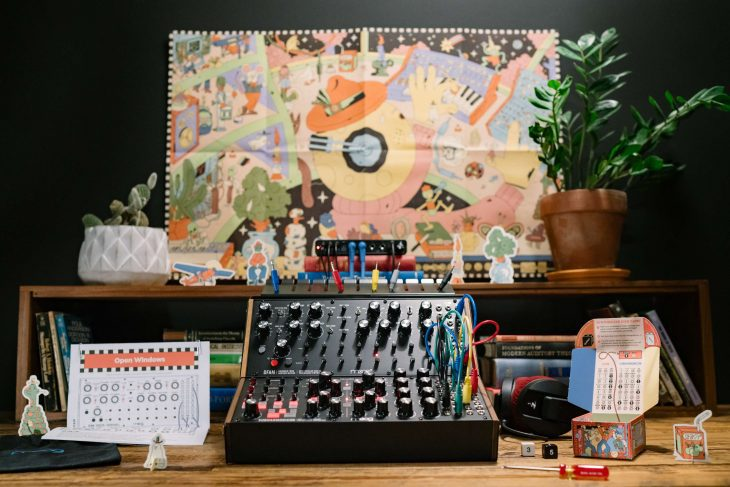 moog sound studio synthesizer