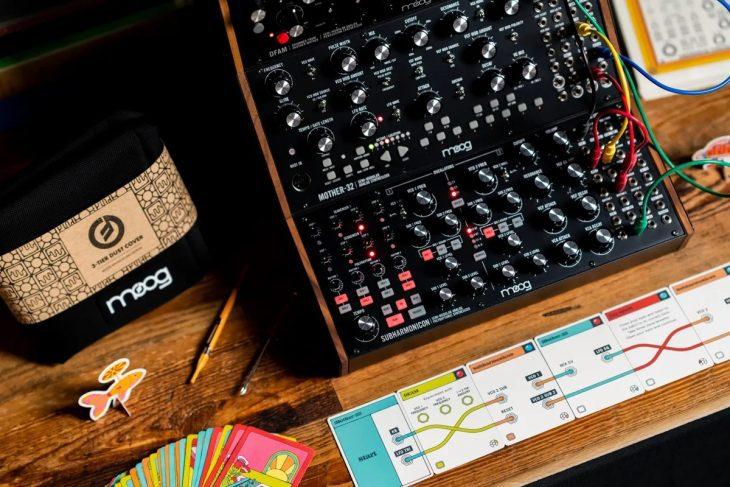 Moog Sound Studio: Mother-32, DFAM & Subharmonicon Card Game