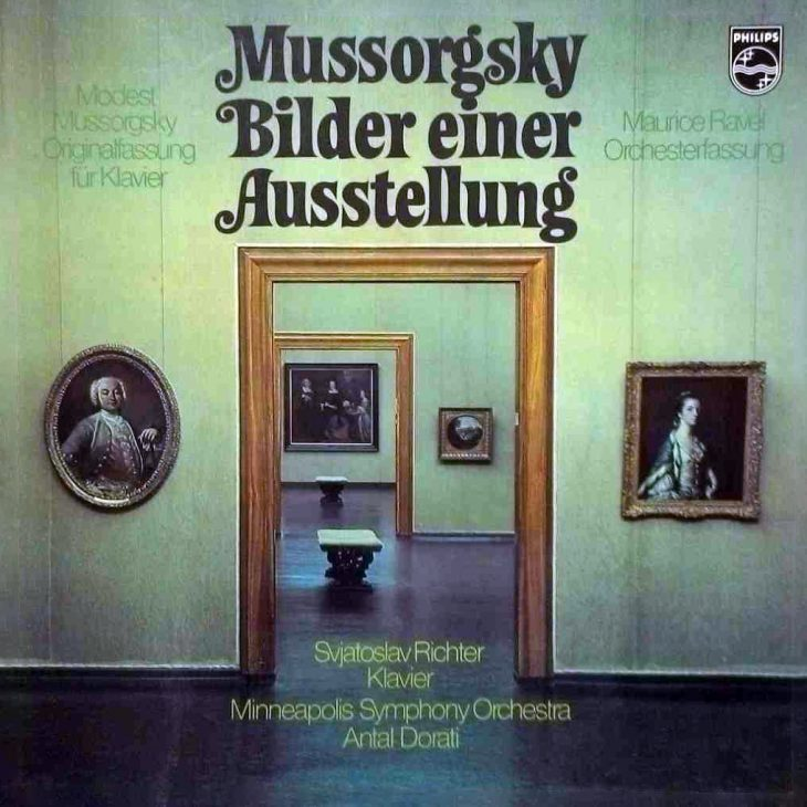 Modest Mussorgsky - Bilder einer Ausstellung Albumcover
