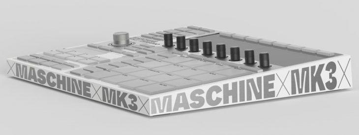 Native Instruments Maschine MK3 Dinamo angle