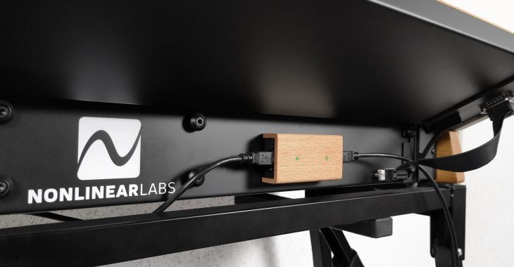 Nonlinear Labs C15 Studio Package Update MIDI Bridge