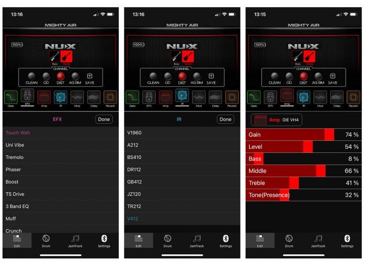 Nux MightyAmp App