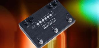 Pigtronix Infinity 3: Deluxe Looper mit bis zu 3 Stunden Aufnahmezeit