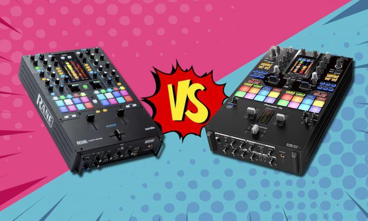 Pioneer DJM-S11 vs. Rane Seventy-Two MKII
