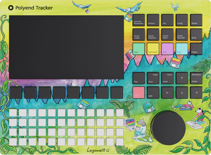 polyend tracker artist edition legowelt
