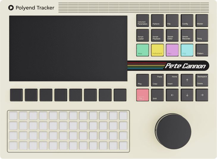polyend tracker artist edition pete cannon