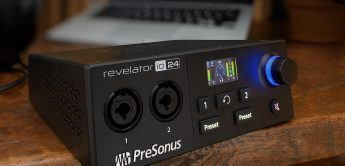 Presonus Revelator io24: Neues USB-Audiointerface