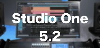 Presonus Studio One 5.2 DAW bietet mehr als 30 neue Funktionen