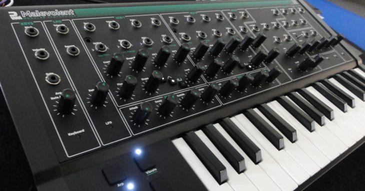 pwm malevolent semi-modular synthesizer top