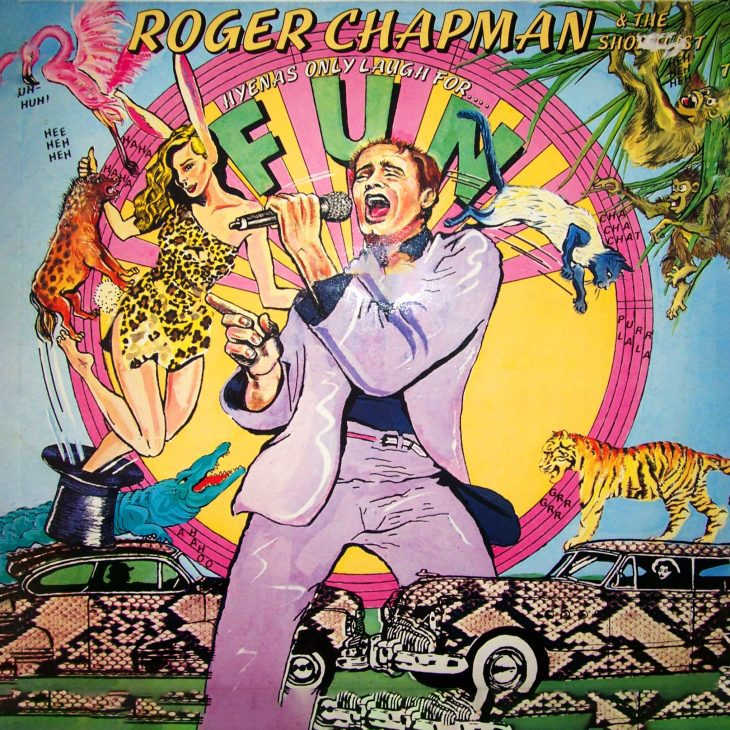 Roger Chapman - Hyenas only laugh for fun Albumcover