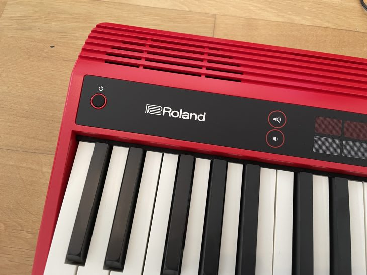roland go keys test keyboard