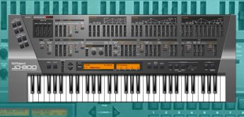 Roland JD-800, Software-Synthesizer als VST/AU/AAX Plug-in