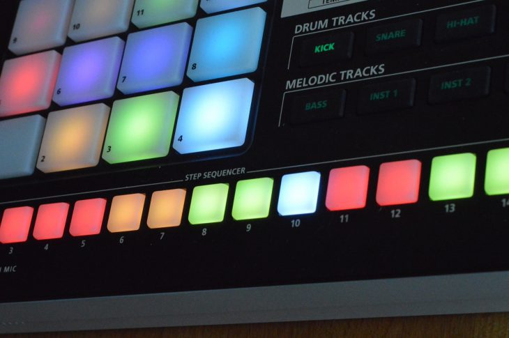 Roland MV-1 Verselab - Sections eines Songs