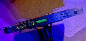 Zeitmaschine: Roland RSP-550 (1990), Multieffektgerät