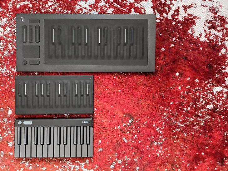 Test: Roli Lumi Keys Studio Edition, 4D-Controller MPE