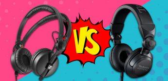 Vergleichstest: Sennheiser HD25 vs. Technics EAH-DJ1200
