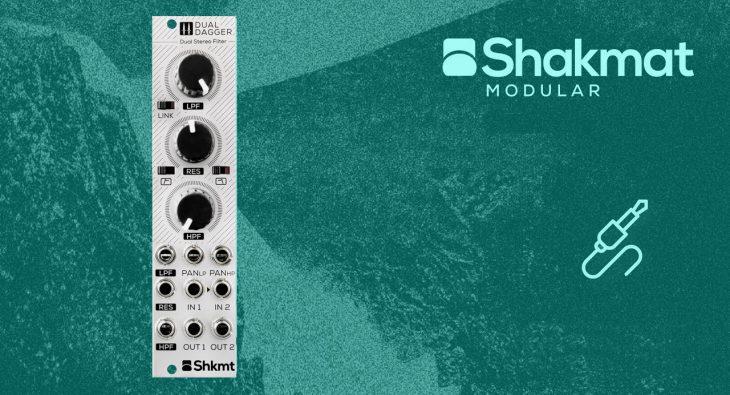 shakmat modular dual dagger eurorack stereo filter